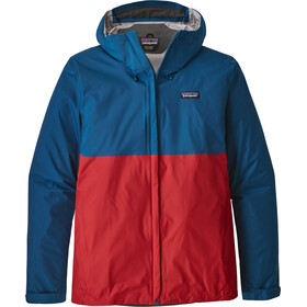 Patagonia Torrentshell Jacket Men big sur blue w/fire red